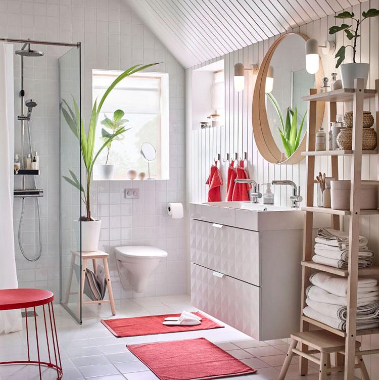 Modello di mobile bagno sospeso Ikea n.05