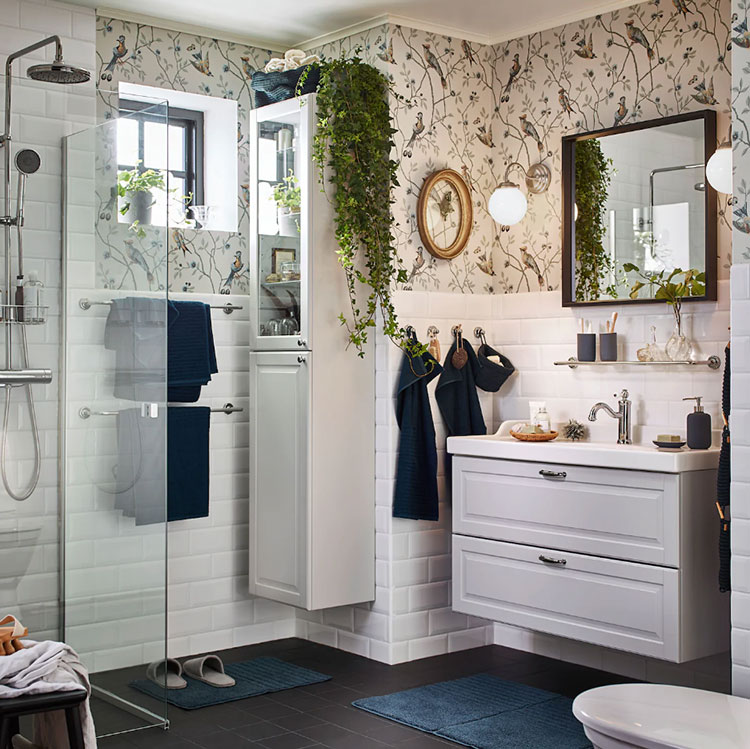 Modello di mobile bagno sospeso Ikea n.06