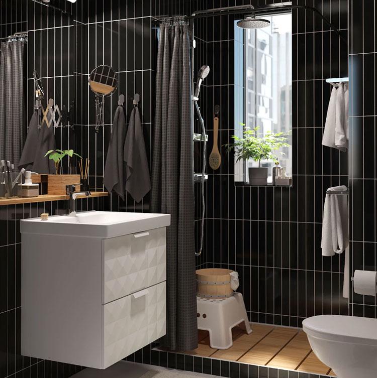 Modello di mobile bagno sospeso Ikea n.10