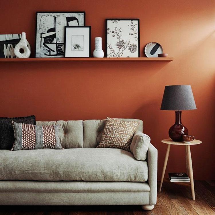 Idee per pareti colore ruggine n.04
