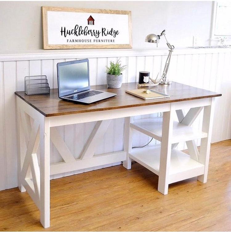 Tutorial per scrivania fai da te in legno n.2