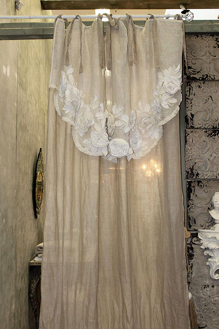 Idee Tende Da Salotto 30 stupende tende shabby chic in vendita online | mondodesign.it
