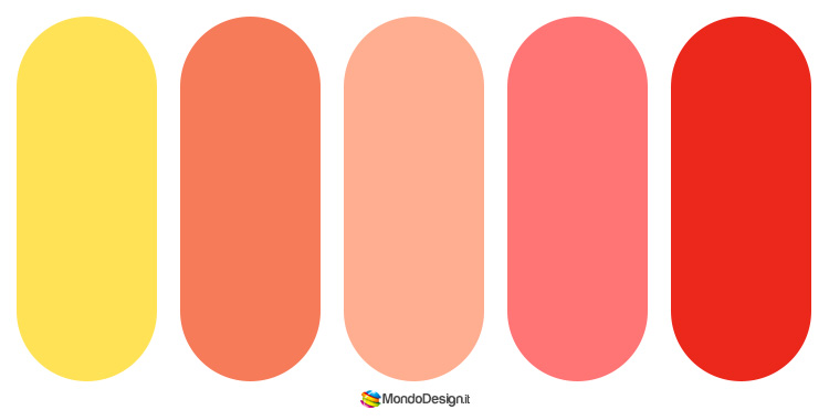 Palette colore salmone 01