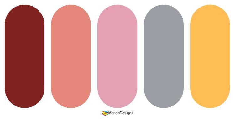 Palette colore salmone 02