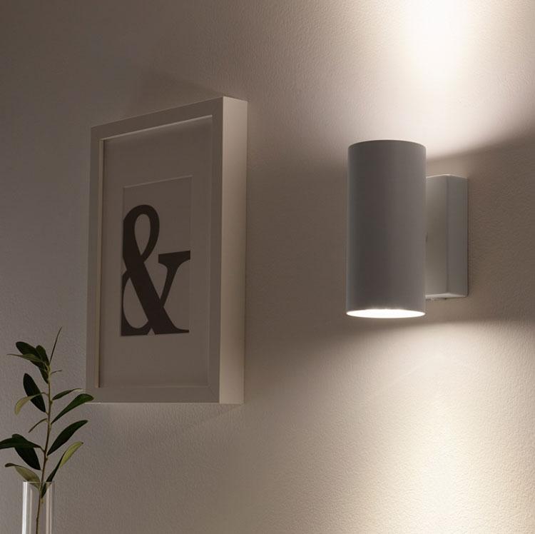 Modello di applique per camera da letto Ikea n.02