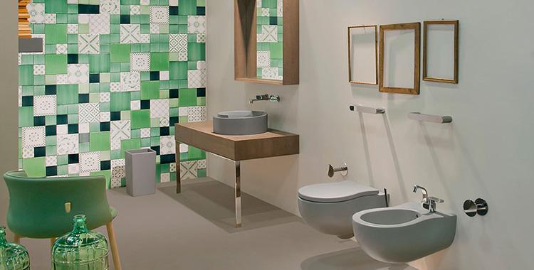 Come progettare un bagno colorato