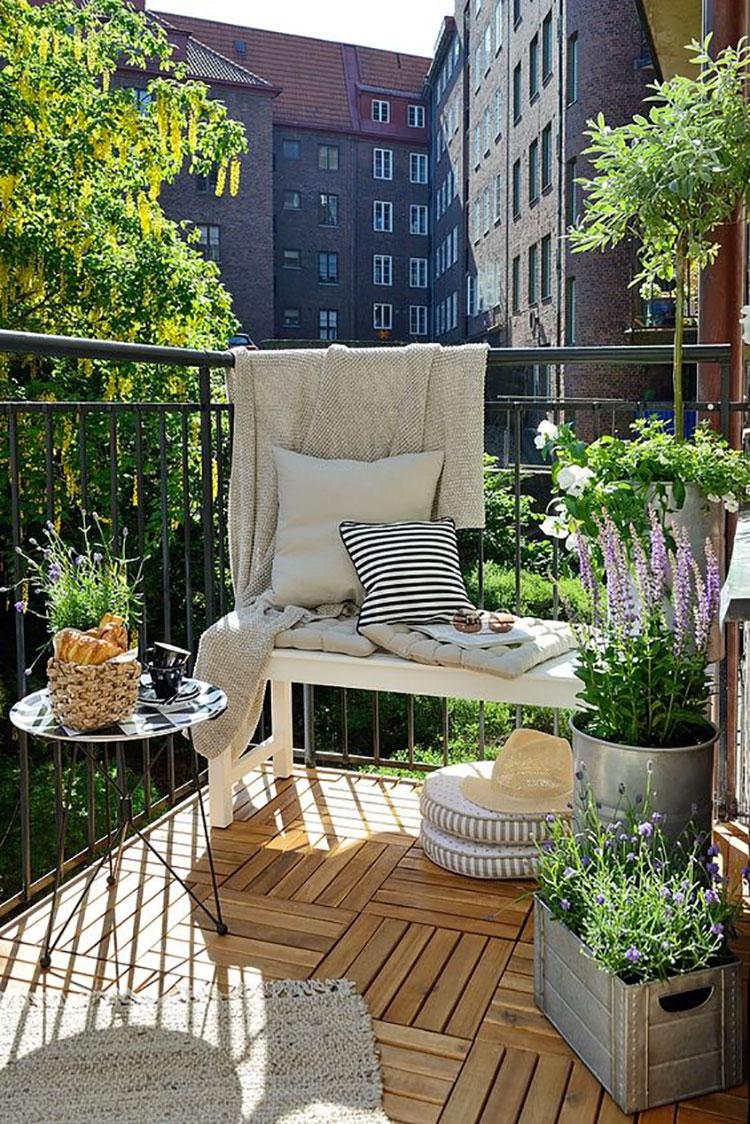 Arredare Il Balcone Ikea 75 idee per arredare un balcone piccolo ed accogliente