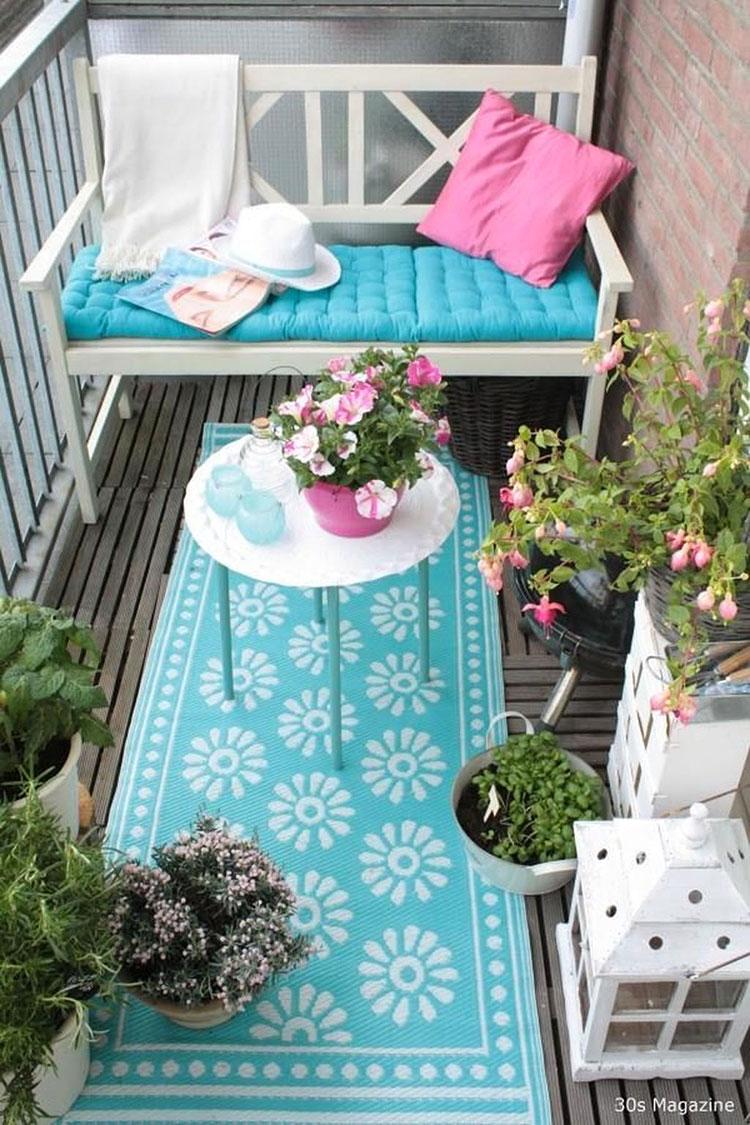 Idee per arredare un balcone piccolo n.29
