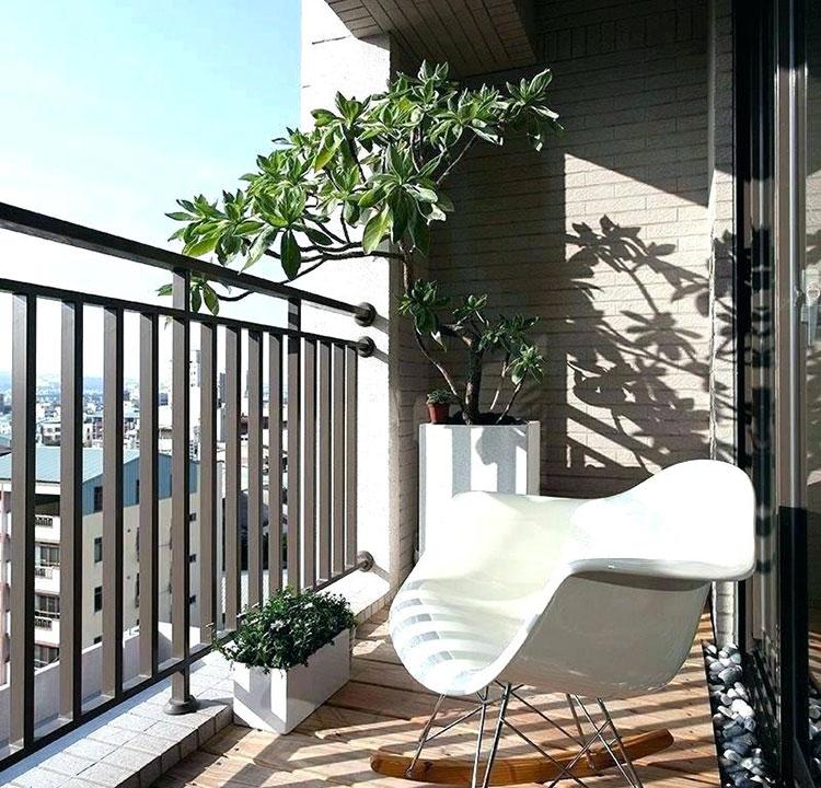 Idee per arredare il terrazzo di un appartamento n.16