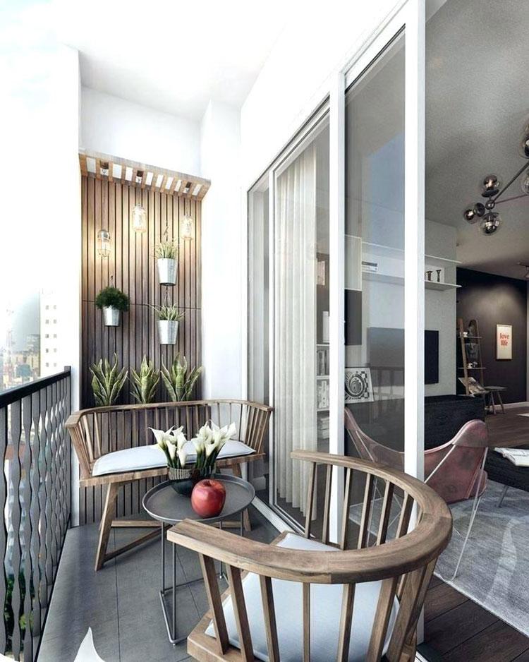 Idee per arredare il terrazzo di un appartamento n.19