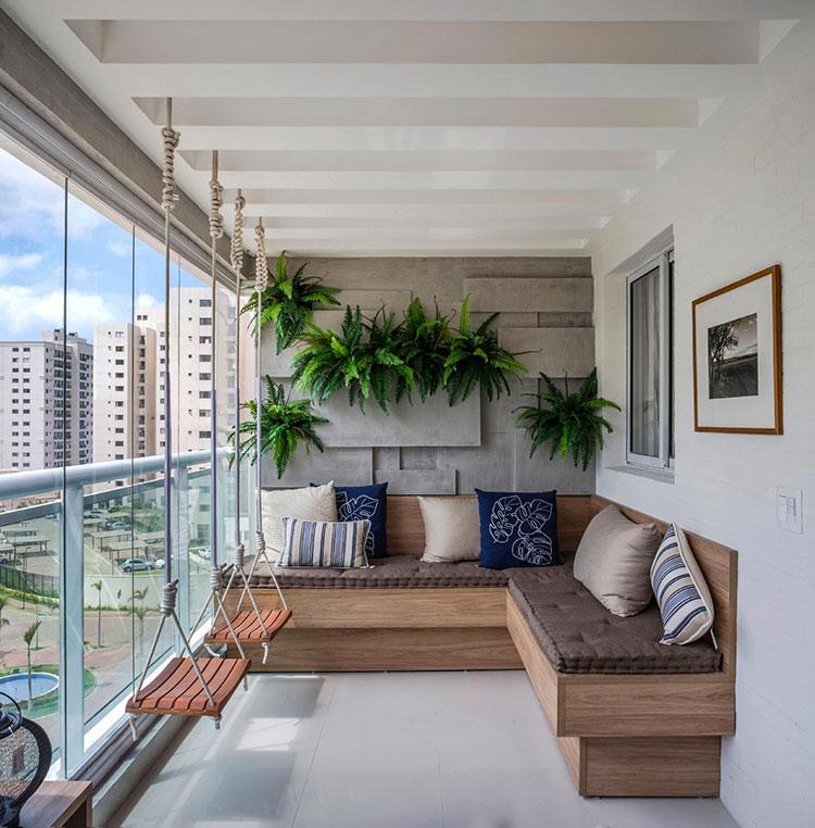 Idee per arredare il terrazzo di un appartamento n.23