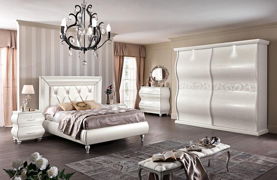 Modello di camera da letto classica contemporanea n.01