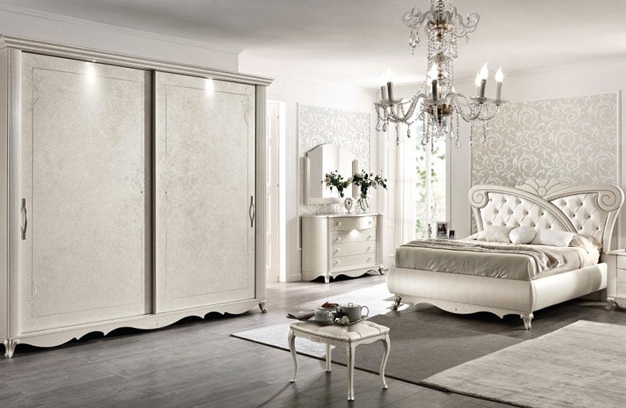 Modello di camera da letto classica contemporanea n.02