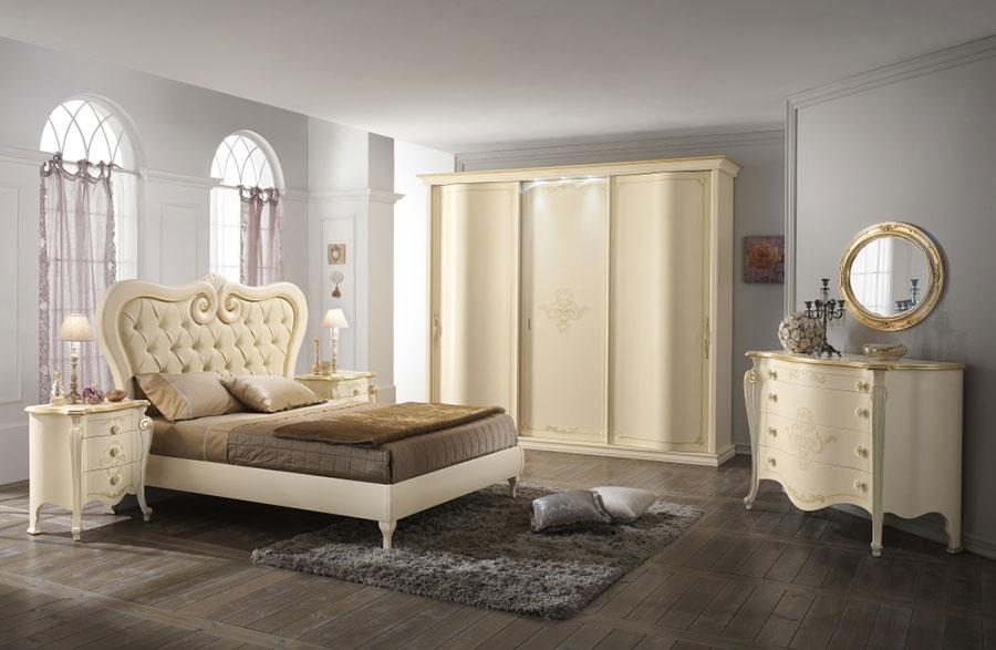 Modello di camera da letto classica contemporanea n.03