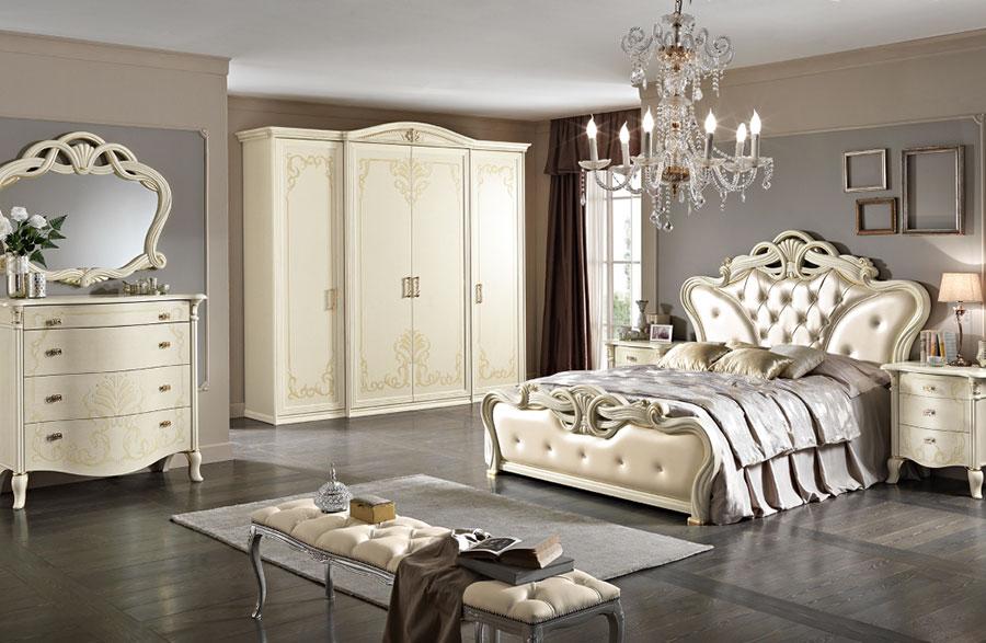 Modello di camera da letto classica contemporanea n.04