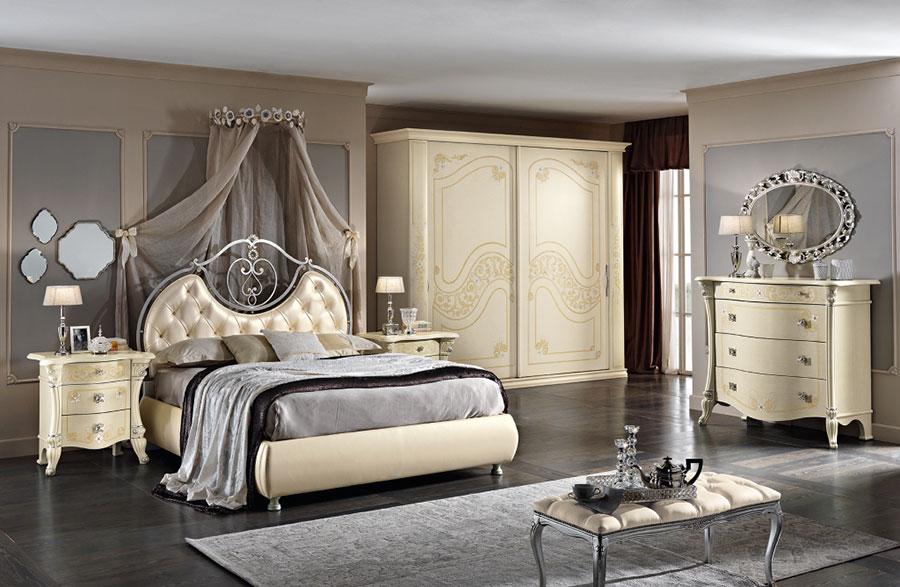 Modello di camera da letto classica contemporanea n.05