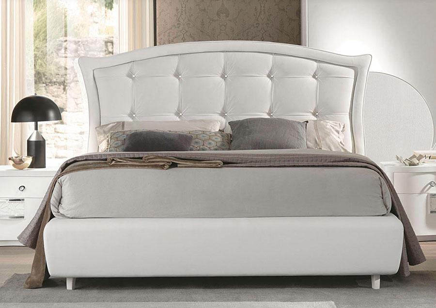 Modello di camera da letto contemporanea con Swarosvki n.02