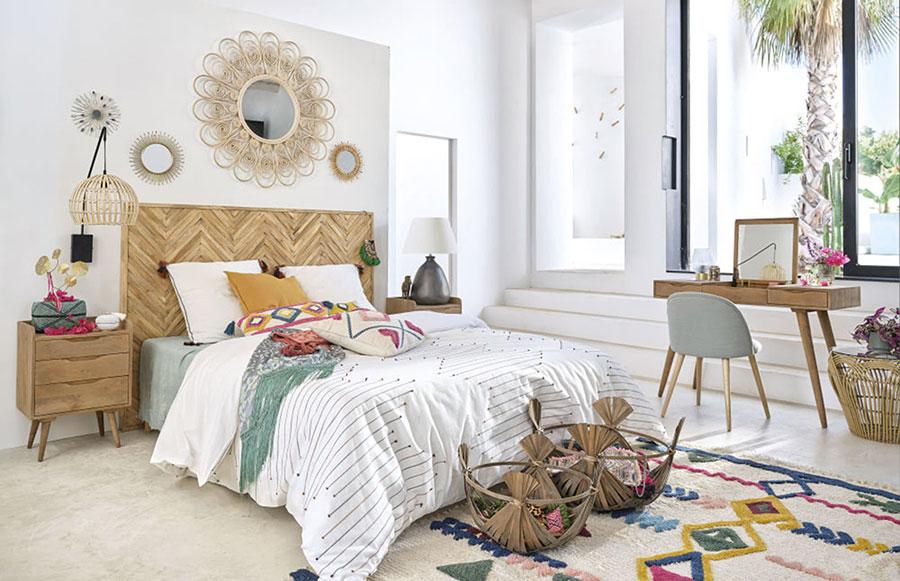 Arredamento per camera da letto in stile rustico moderno n.04