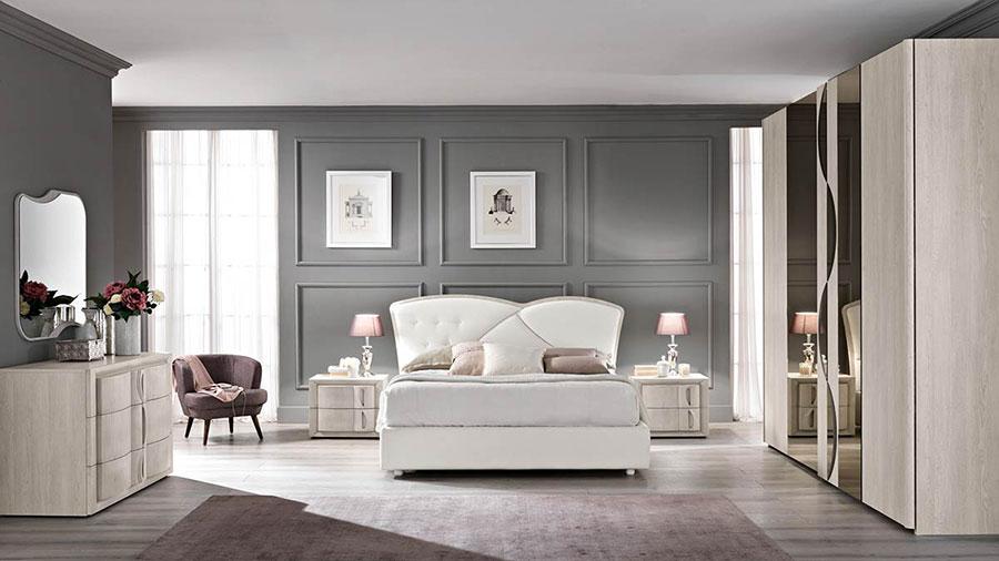 Modello di camera da letto contemporanea n.02