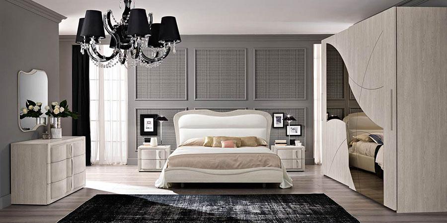 Modello di camera da letto contemporanea n.04