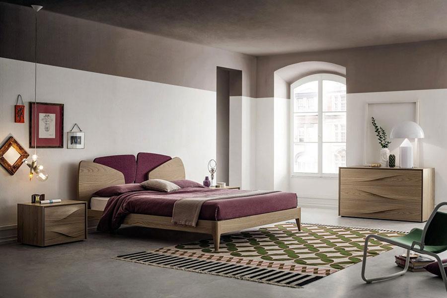 Modello di camera da letto contemporanea n.06
