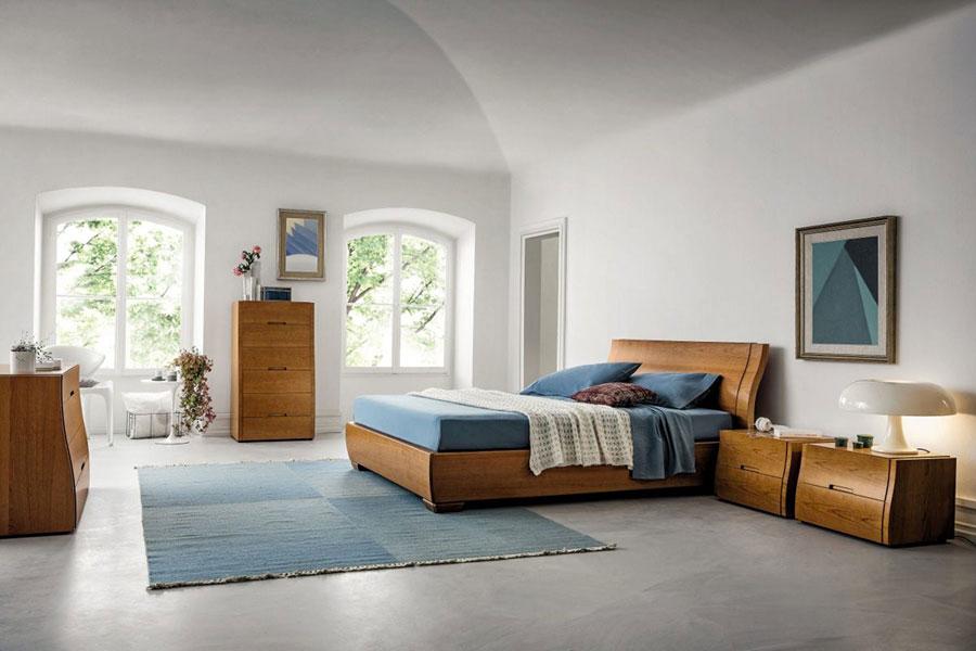 Modello di camera da letto contemporanea n.07