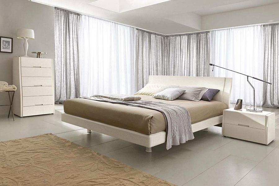 Modello di camera da letto contemporanea n.08