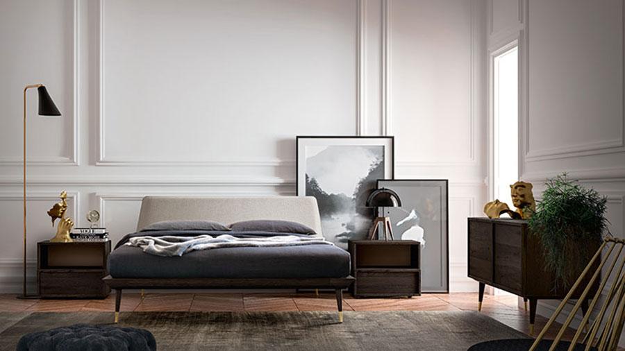 Modello di camera da letto contemporanea n.10