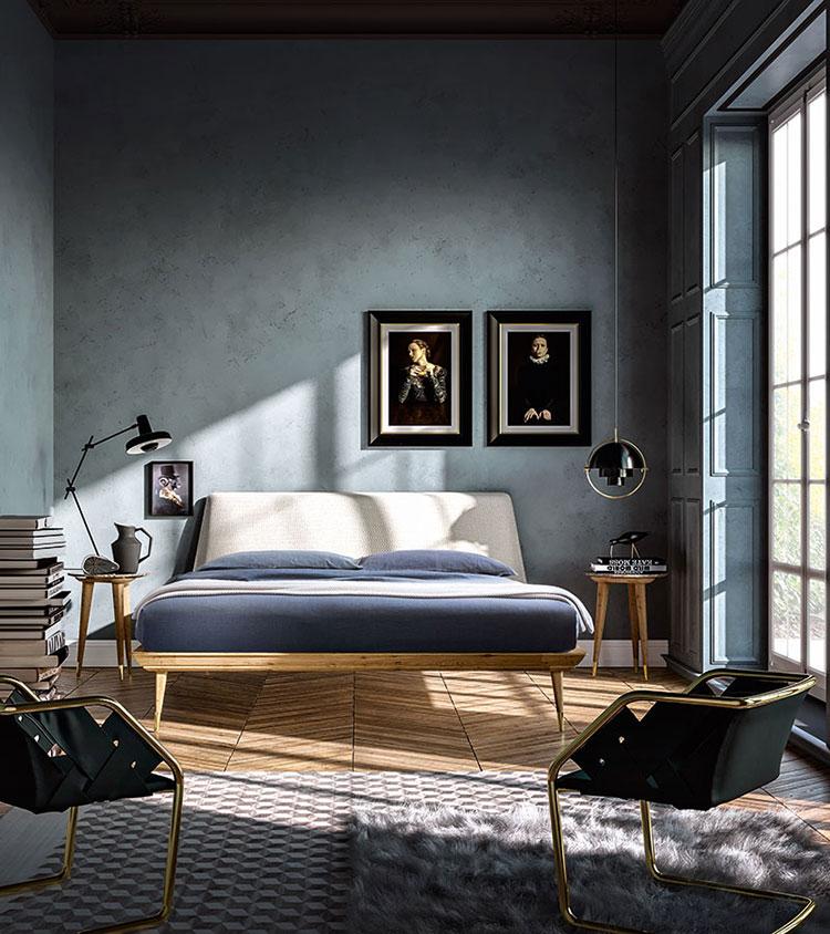 Modello di camera da letto contemporanea n.11