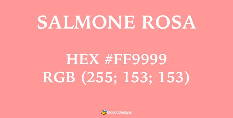 Tonalità salmone rosa