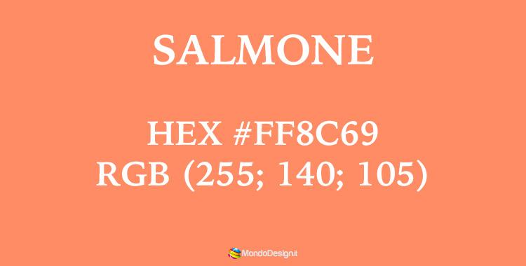 Codici colore salmone