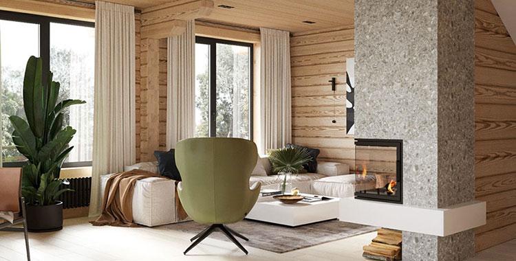 30 Idee di Arredamento in Stile Rustico e Moderno Insieme ...