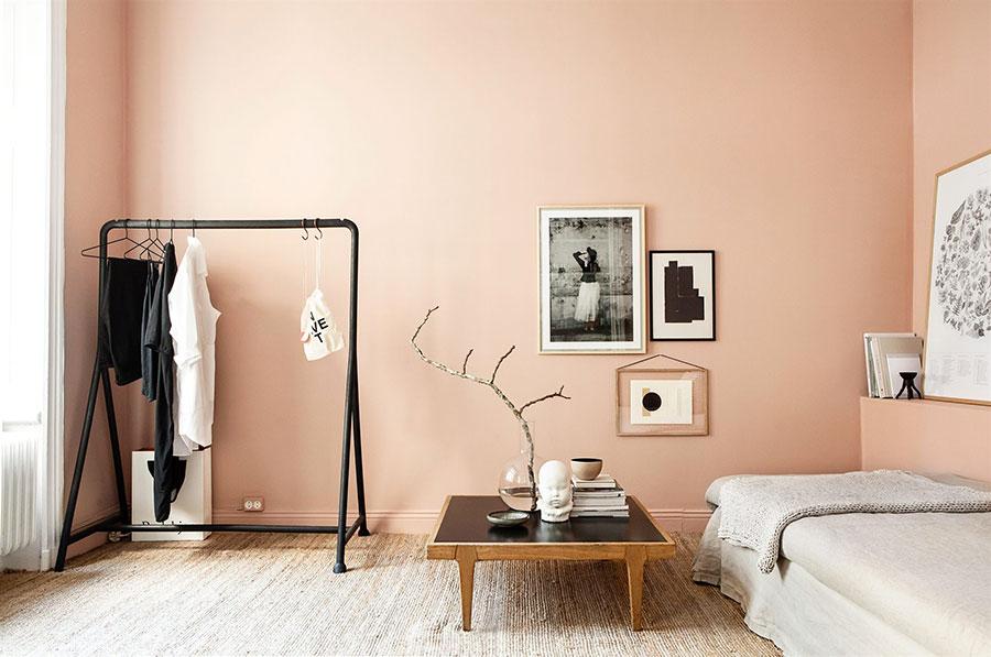 Idee pareti colore salmone 03