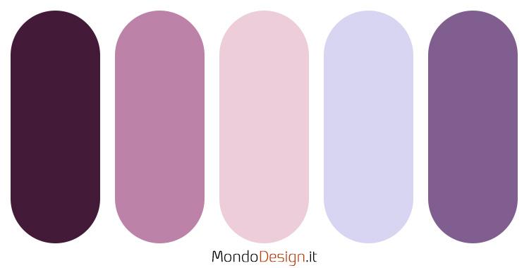 Palette colore lavanda 01