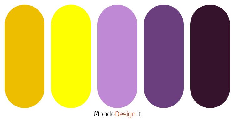 Palette colore lavanda 05
