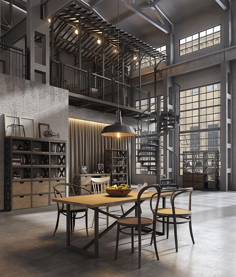 Idee per arredare un loft in stile industriale n.34