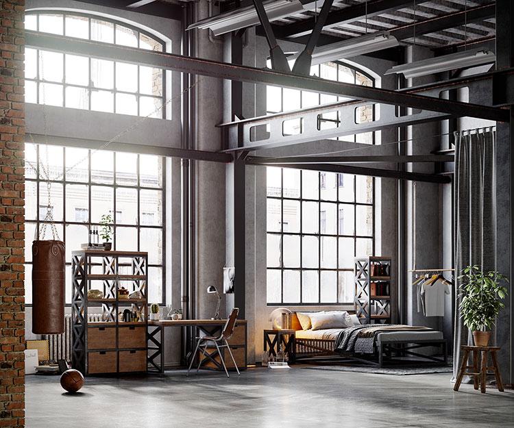 Idee per arredare un loft in stile industriale n.35