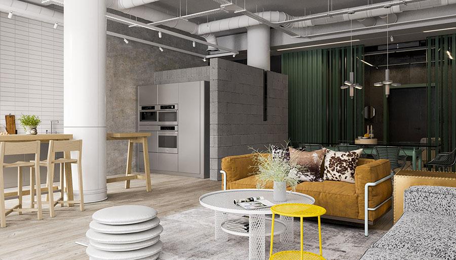 Idee per arredare un loft in stile industriale n.42