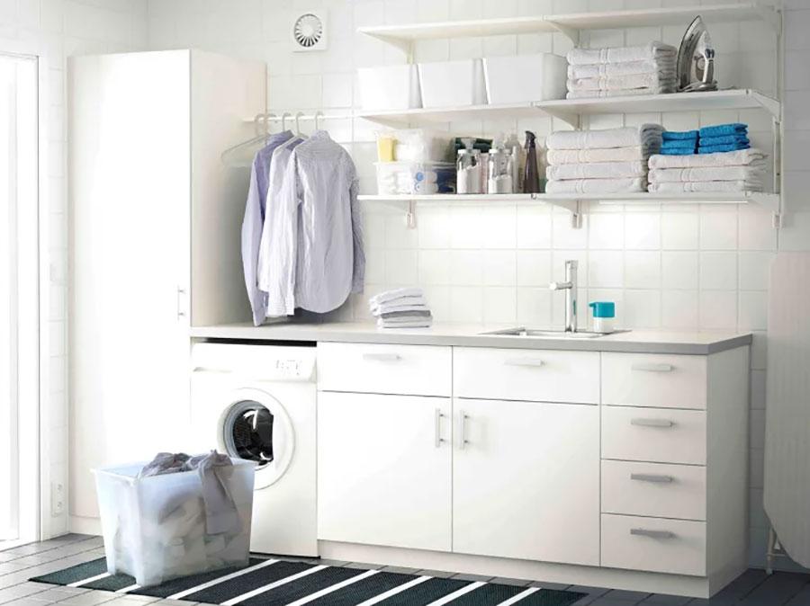 Idee per arredare una lavanderia Ikea n.03