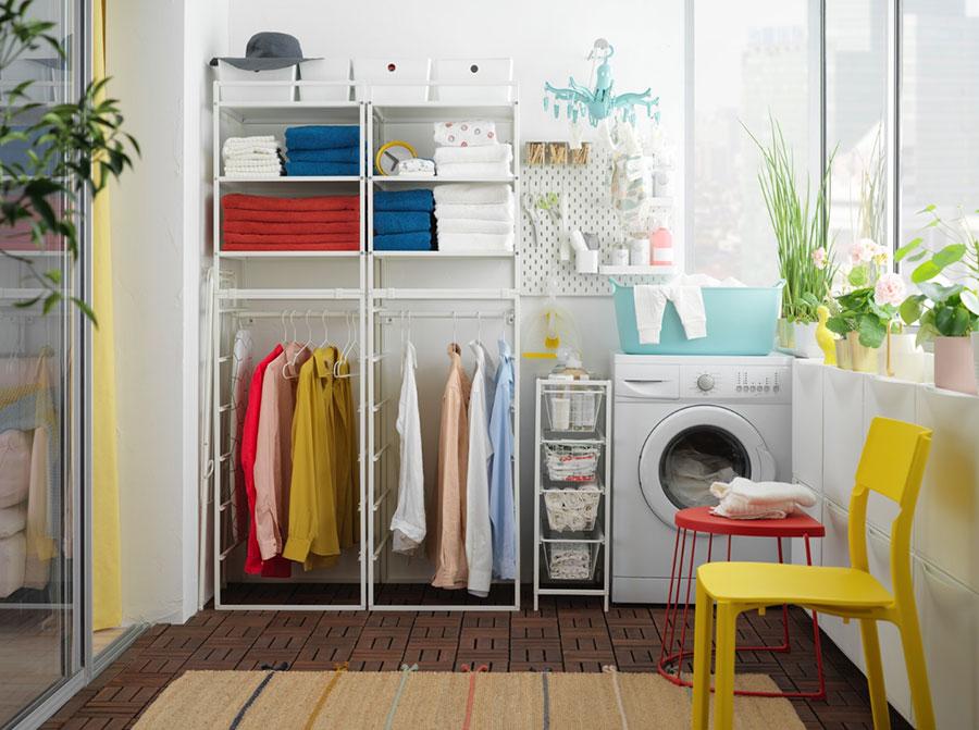 Idee per arredare una lavanderia Ikea n.04