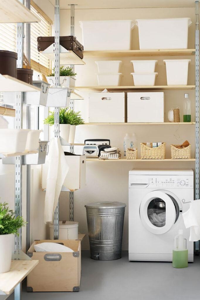 Idee per arredare una lavanderia Ikea n.05