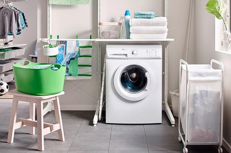 Idee per arredare una lavanderia Ikea n.06