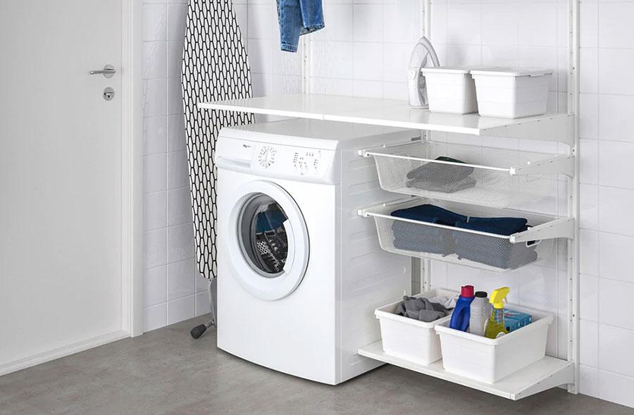Idee per arredare una lavanderia Ikea n.07