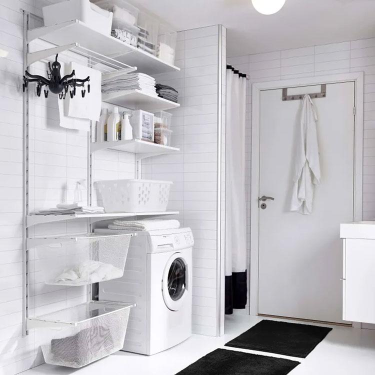 Idee per arredare una lavanderia Ikea n.08