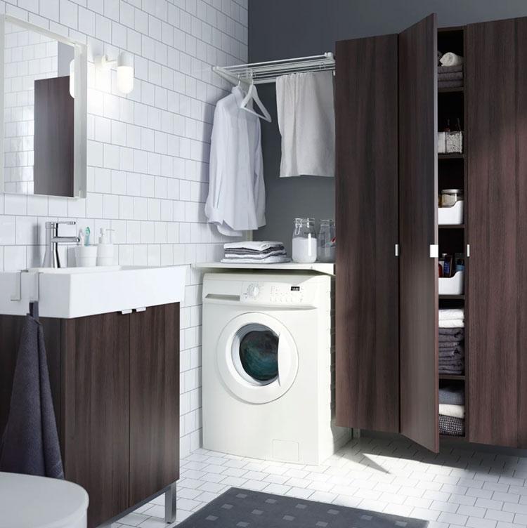 Idee per arredare una lavanderia Ikea n.09