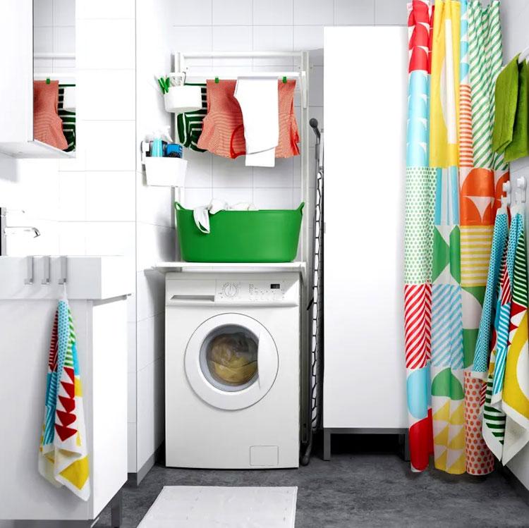 Idee per arredare una lavanderia Ikea n.12