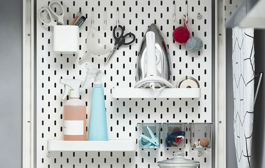 Idee per arredare una lavanderia Ikea n.13