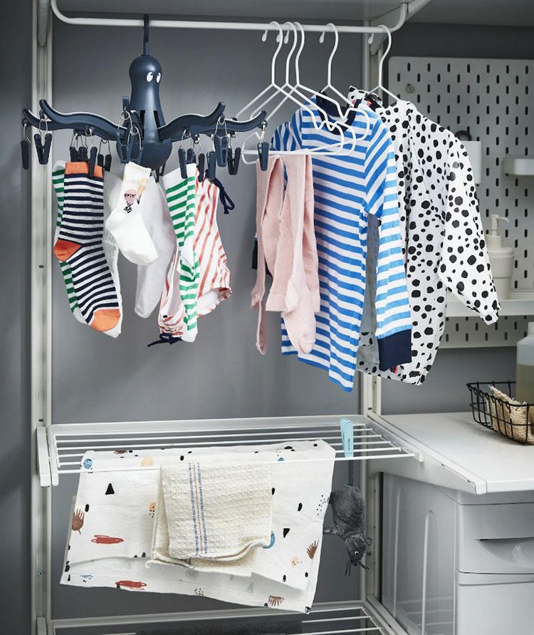 Idee per arredare una lavanderia Ikea n.14