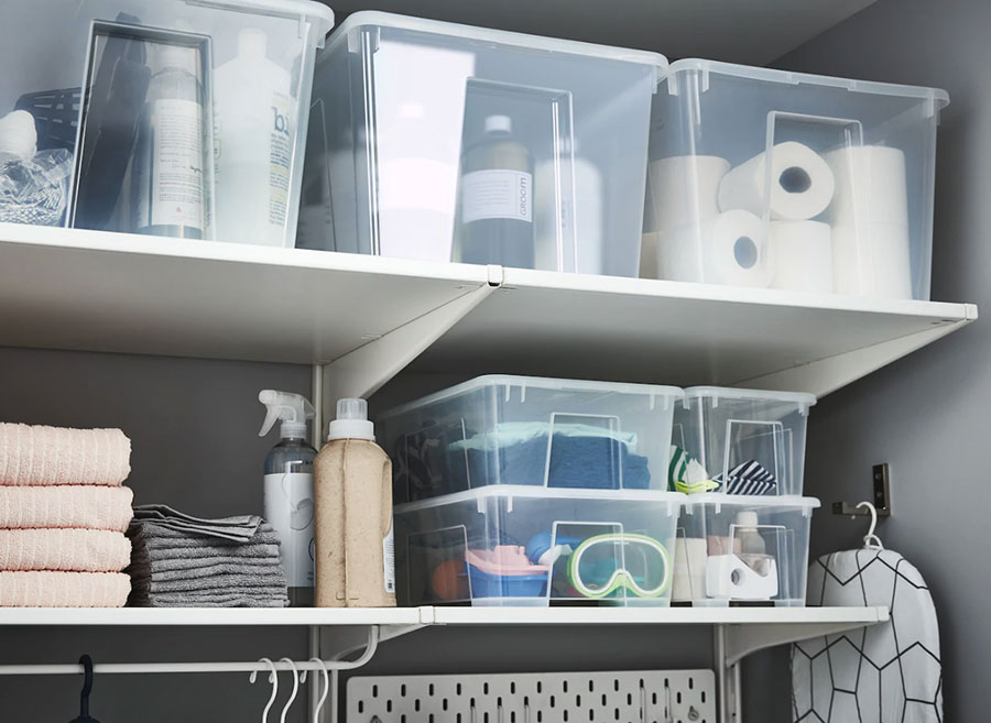 Idee per arredare una lavanderia Ikea n.15
