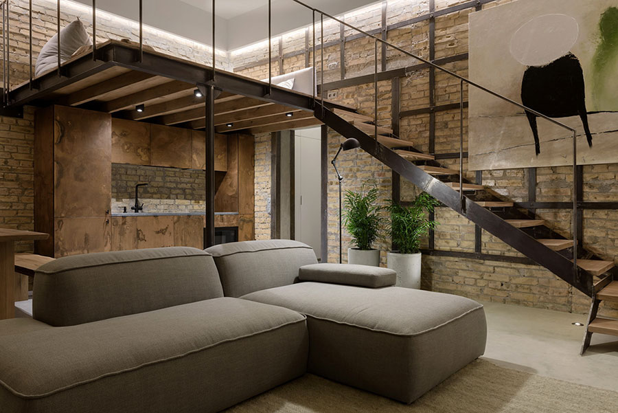 Idea per arredare un loft open space n.33